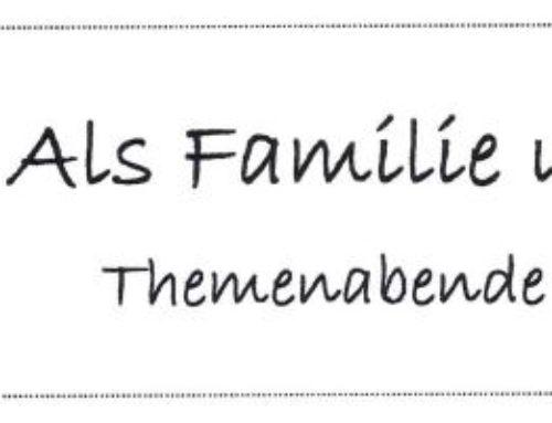 Themenabend für Eltern