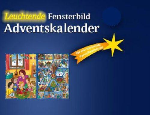 Fensterbild-Adventskalender Verkauf