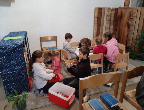 Kinderecke in der Pelagiuskirche