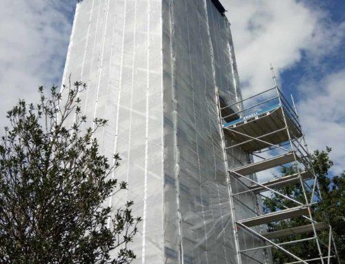 Kirchturmsanierung Sitterdorf