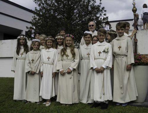 Erstkommunion im Pastoralraum Bischofsberg