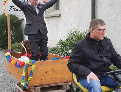 Juhui pensioniert! Verabschiedung Sepp Mittelholzer